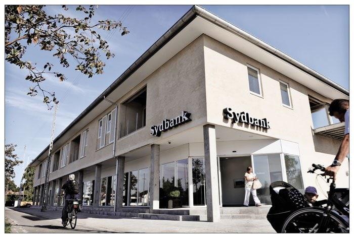 Sydbank er Danmarks fjerdestørste bank