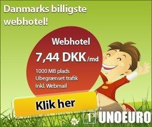 Hos Unoeuro kan du få et godt og billigt webhotel