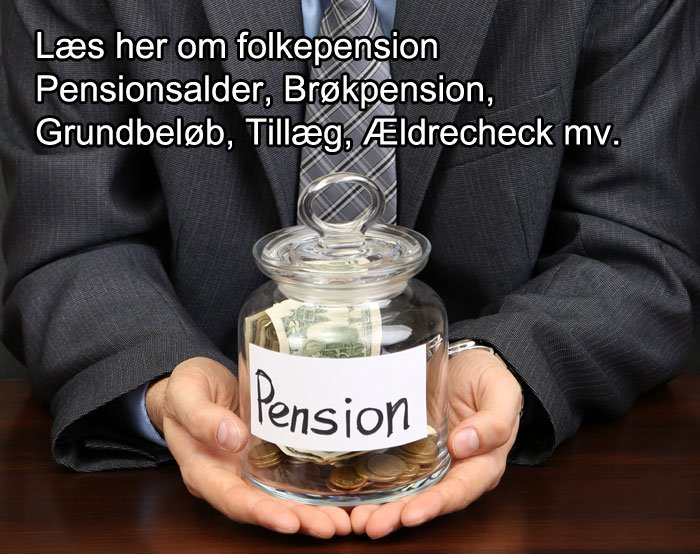 aldersopsparing modregning i folkepension