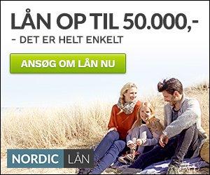 Hos Nordiclån kan du nemt og hurtigt låne op til 50.000,-