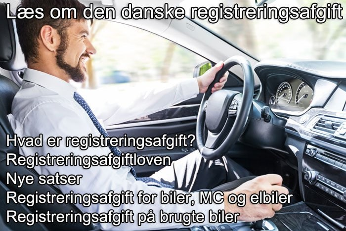 Læs om den danske registreringsafgift