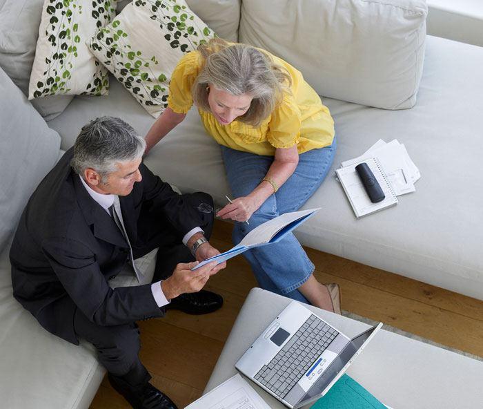 Få en rådgiver til at gennemgå dine papirer