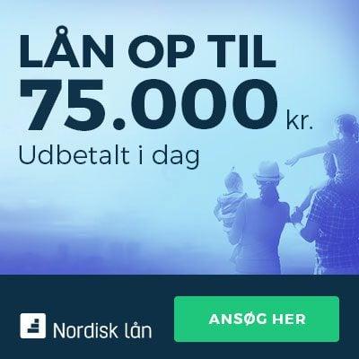 Lån nemt, hurtigt og sikkert hos Nordisk Lån
