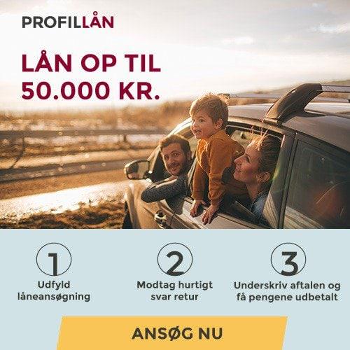 Profil Lån >> Lån op til 50.000 kr.