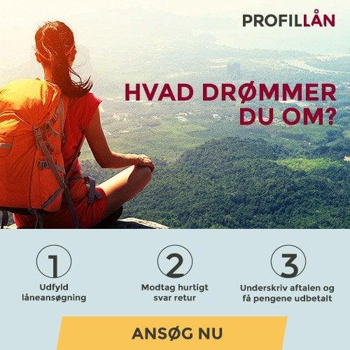Profil Lån >> Hvad drømmer du om?