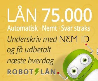 Robot lån >> Lån som 18 årig