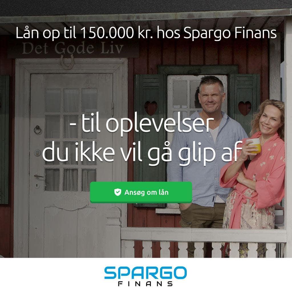 Spargo Finans >> Lån hurtigt op til 150.000 kr. >> uforpligtende ansøgning