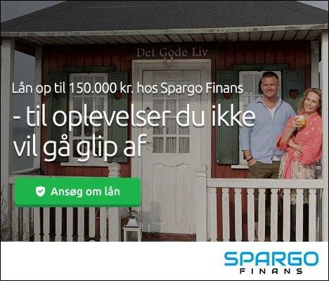 Lån op til 150.000 kr. hos Spargo Finans