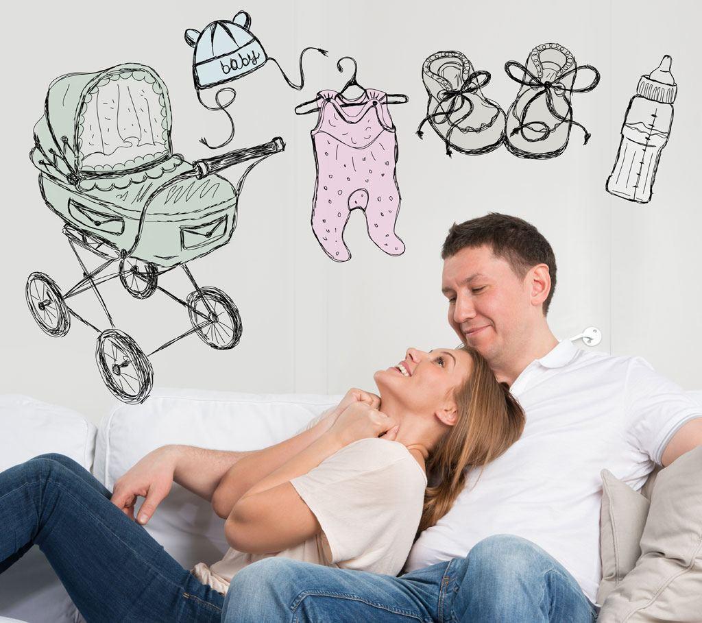 Tænk på alle udgifterne til den kommende baby inden babyen kommer til verden. Så har I mere overskud til barnet.