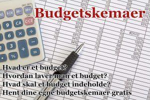 Budgetskemaer – Den ultimative guide