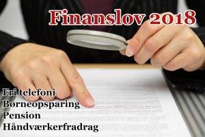 Finanslov 2018