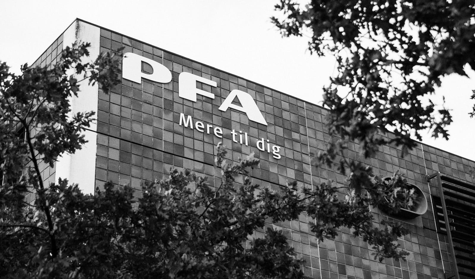 PFA er Danmarks største pensions- og forsikringsselskab