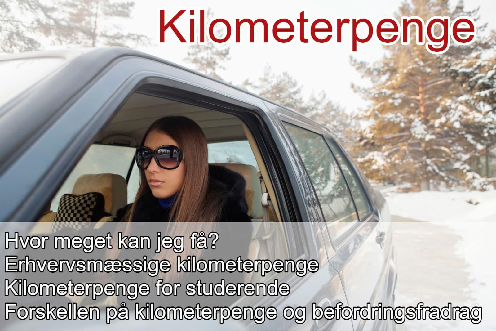 kørepenge fra arbejdsgiver