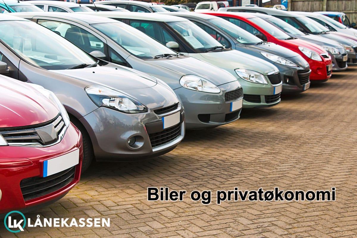 Biler og privatøkonomi