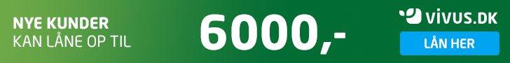 Lån 6.000 kr. ved første lån