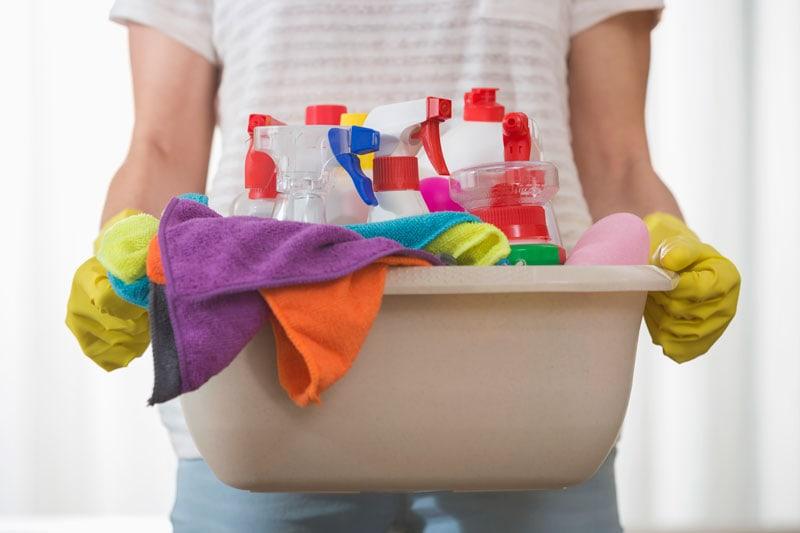 Servicefradraget bruges ofte i forbindelse med børnepasning eller rengøring af hjemmet