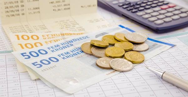 Hvad koster det at låne penge i Danmark?
