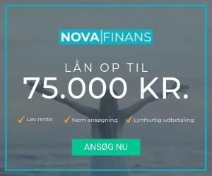 Lån op til 75.000 kr. hos Nova Finans